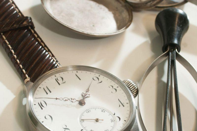 Uhrenwerkstatt bei Juwelier und Uhrmachermeister Pfeffel in Neulengbach