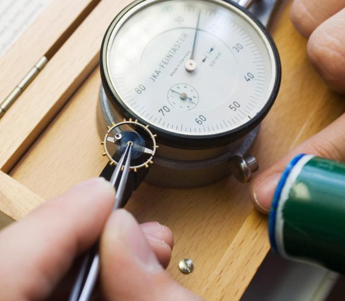 Zertifizierte Uhrenwerkstatt bei Uhrmachermeister Pfeffel in Neulengbach